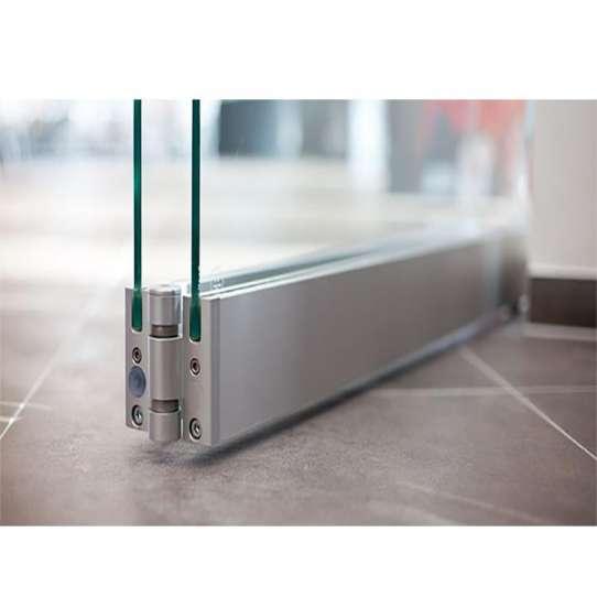 WDMA Aluminium Frameless Folding Door