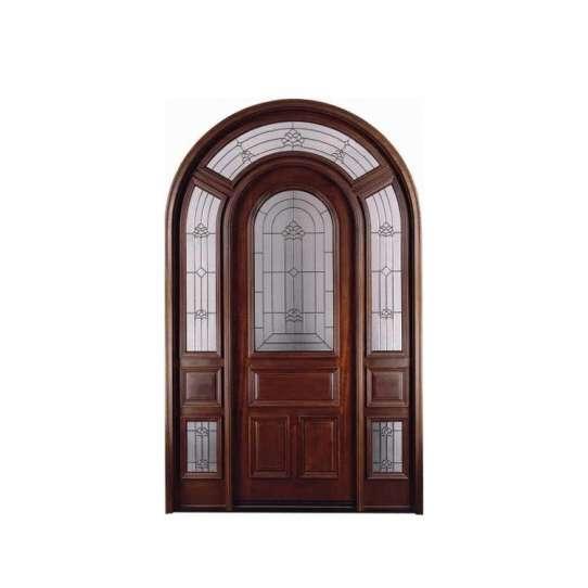 China WDMA wood doors polish color Wooden doors