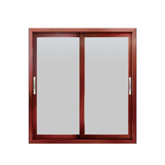 China WDMA double glazed aluminium windows