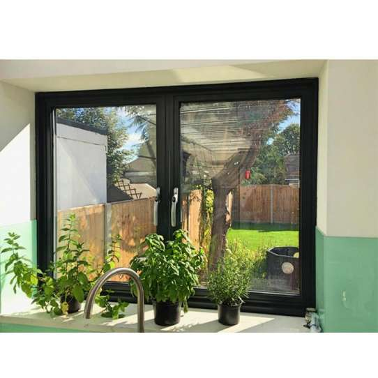 WDMA Powder Coated Aluminum Casement Window