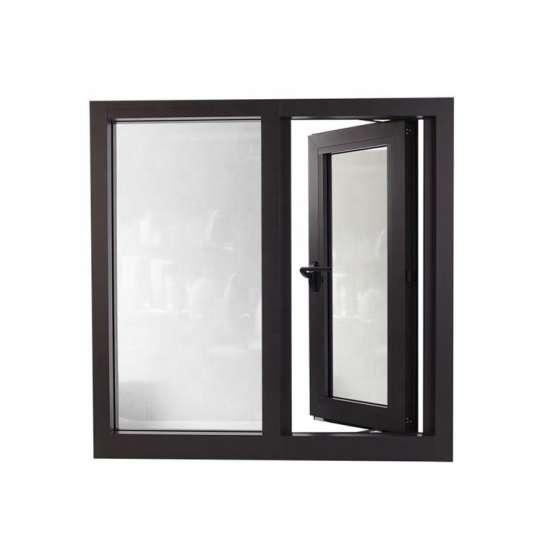 China WDMA Powder Coated Aluminum Casement Window Lowes French Window Price Design