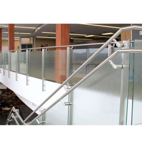 WDMA Powder Coated Cast Aluminium Alloy Extrusion Stainless Steel Square Pipe U Channel Handrail Glass Railing