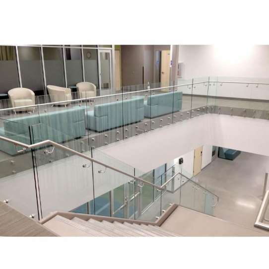 China WDMA Stainless Steel Square Pipe Railing