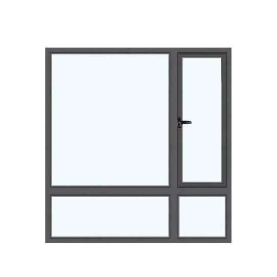 WDMA aluminium tilt and turn window Aluminum Casement Window