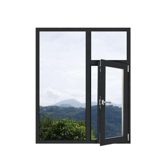 China WDMA Powder Coated Narrow Aluminium Slimline Casement Window