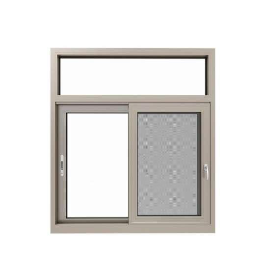 China WDMA powder coating aluminium 3 tracks sliding window