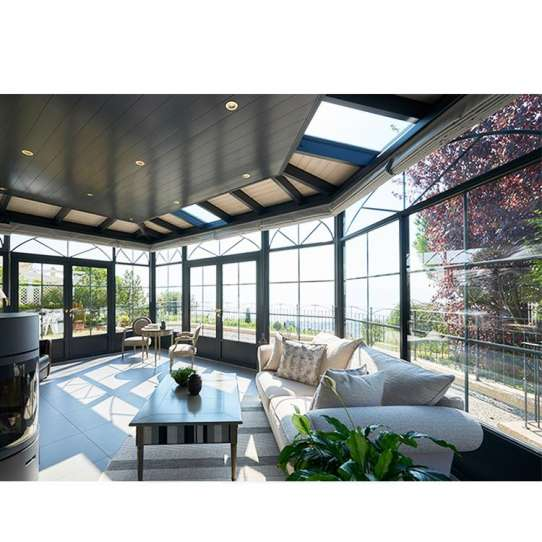 WDMA cabin and garden room Aluminum Sunroom