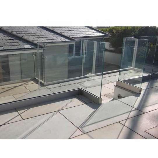 WDMA Prefab Metal Square Pipe Balcony Stair Railing Modern Design