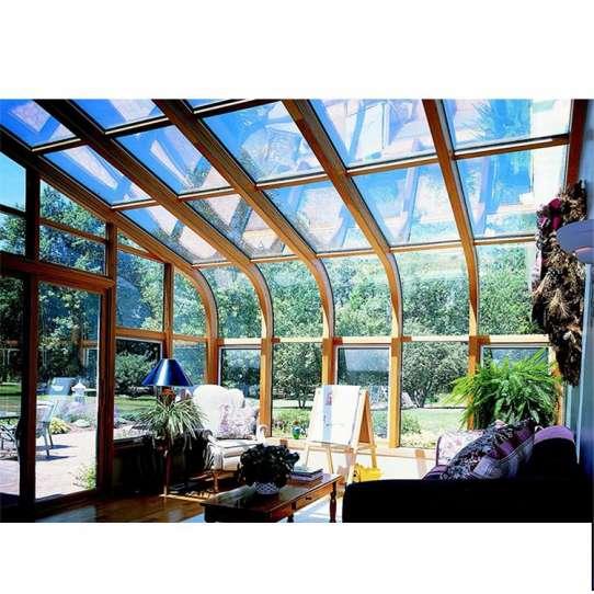WDMA prefabricated glass sunroom Aluminum Sunroom