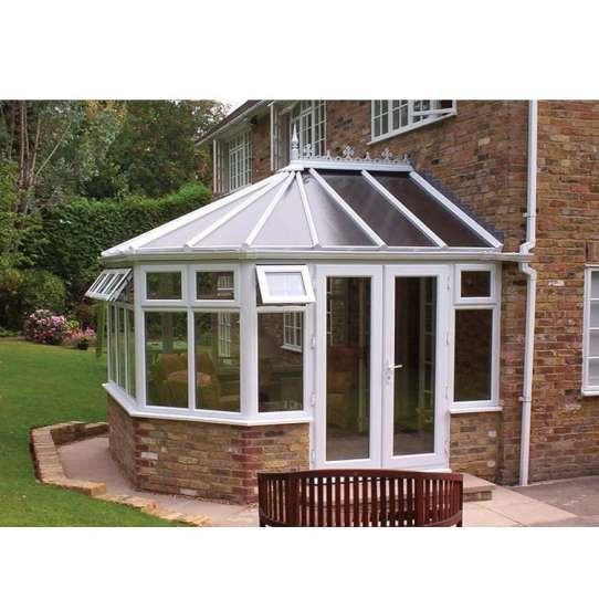 WDMA Prefabricated Four Seasons Aluminium Extrusion Tempered Glass House Balcony Sunroom Victorian Conservatory Greenhouse Garden Roo
