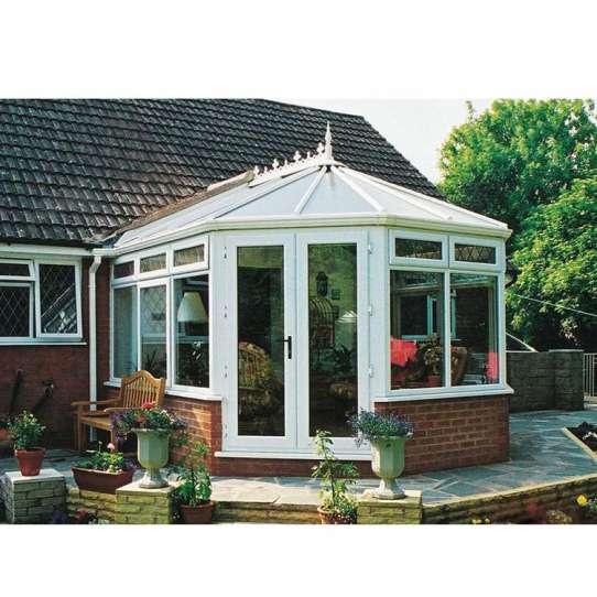 WDMA Prefabricated Four Seasons Aluminum Glass Sunrooms Conservatory House