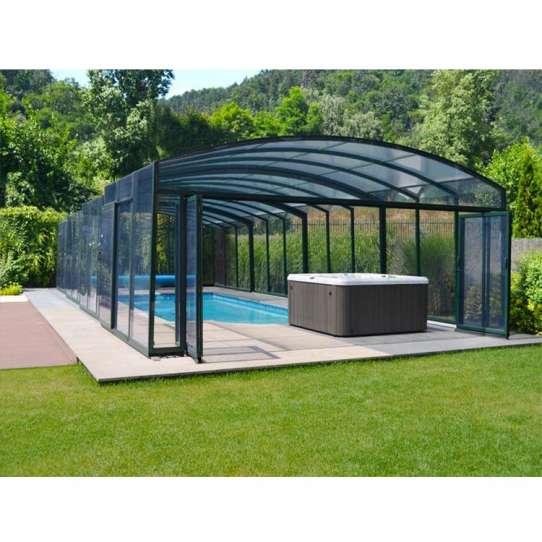 China WDMA swimming pool enclosure Aluminum Sunroom