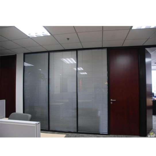 WDMA office partition glass wall Aluminum office partition