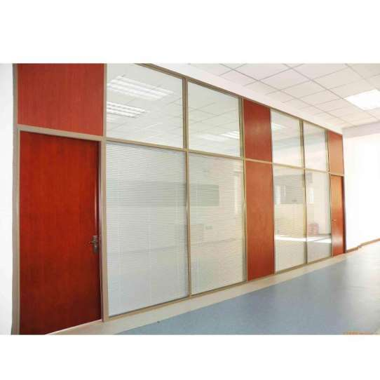 China WDMA office partition glass wall