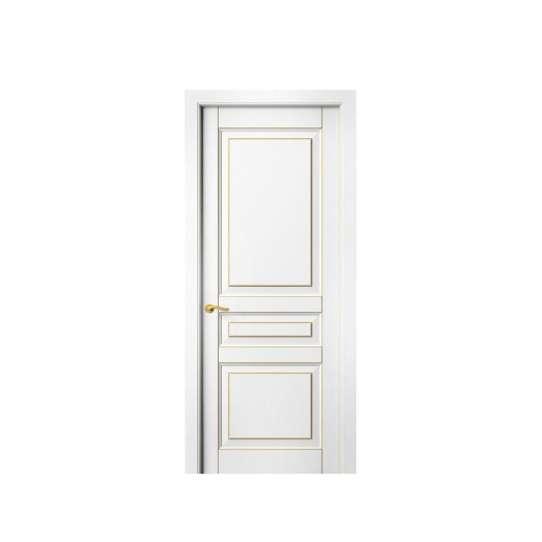 China WDMA Price Of Latest Cheap Interior Wood Bedroom Wooden Door Model Design Sunmica