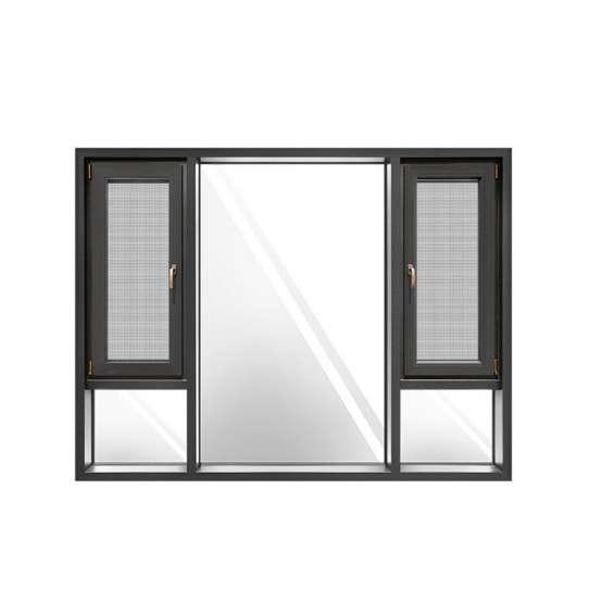 China WDMA prefabricated aluminum windows and doors Aluminum Casement Window