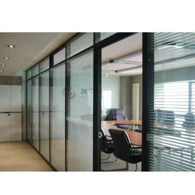 WDMA Price Of Restaurant Movable Wooden Folding Partition Wall