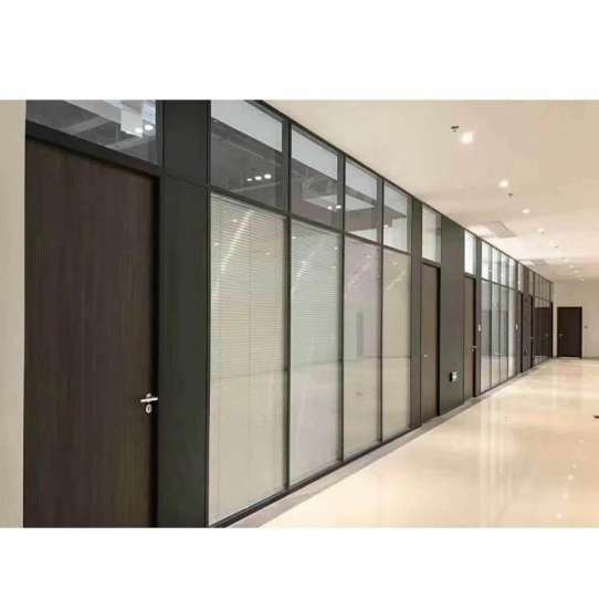 China WDMA movable partition wall Aluminum office partition