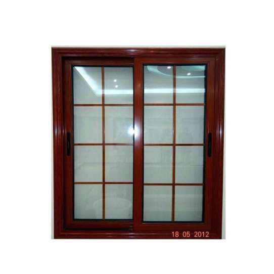 China WDMA Price Of Schuco 48 X 48 House Aluminum Horizontal Reception Sliding Window With Iron Grill Security Bars Price List Design