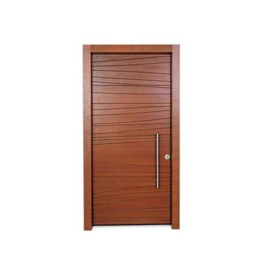 China WDMA Pure Solid Wooden Door North Indian House Interior Doors Model Design