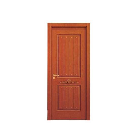 WDMA Qatar Solid Wood Swing Room Door Design from China