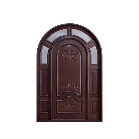 China WDMA qatar solid wood door Wooden doors