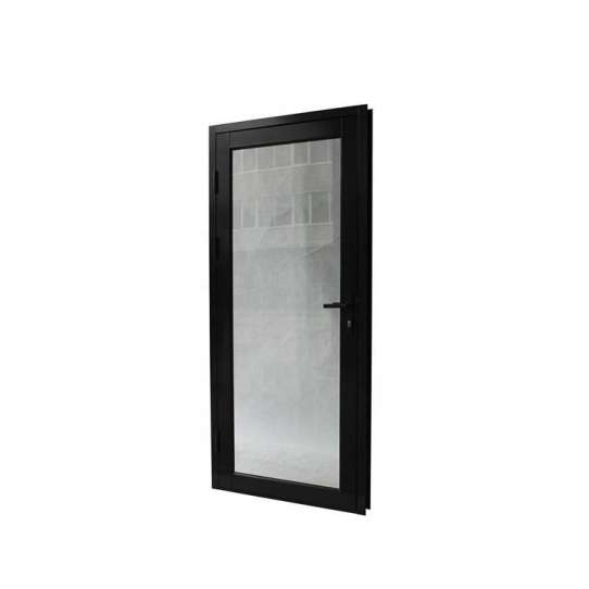 WDMA Readymade Aluminium Designer Double Sided Swing Mirror Glass Door Model Size For Saloon