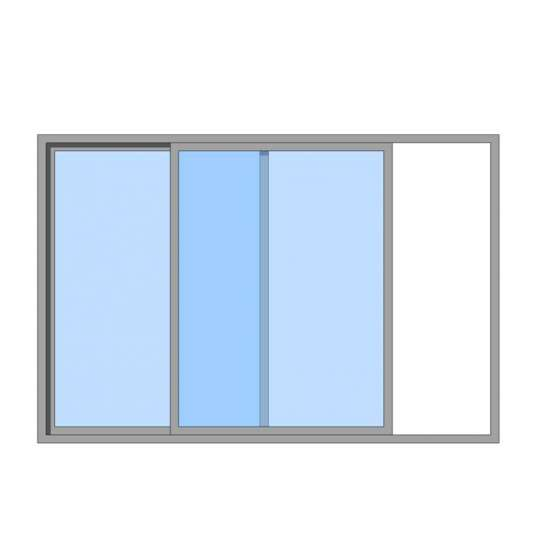 China WDMA Residential Sound Proof Aluminium Sliding Window And Door With Blue Glass Design For House Bathroom In Australian Standard
