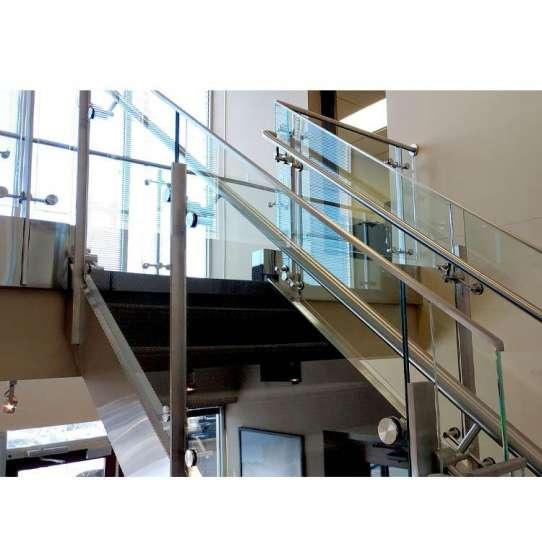 China WDMA aluminium stair railing Balustrades Handrails