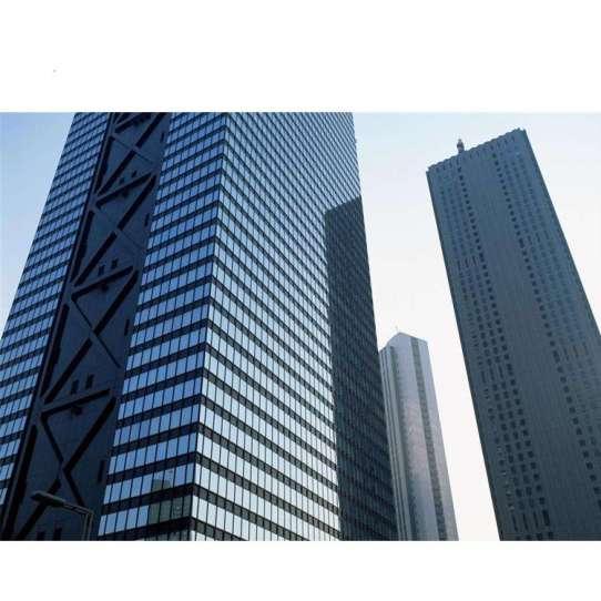 China WDMA Shandong Hidden Frame Aluminium Double Glazing Glass Curtain Wall With Detail Dwg Manufacturer