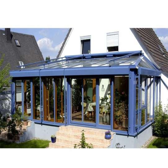 WDMA Simple Design Aluminium Glass House Garden Room For Home