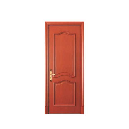 WDMA Simple Design Flush Wooden Door Price In Shandong China
