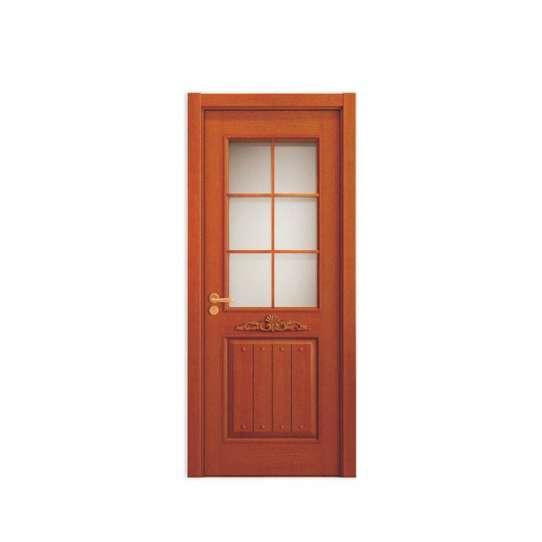 WDMA simple design wood door Wooden doors
