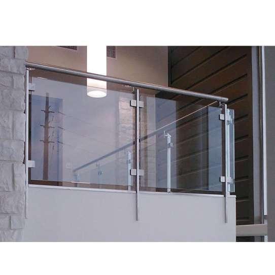 WDMA Simple Tubular Front Mild Galvanized Steel Pipe Balcony Handrail Railing Design For Veranda