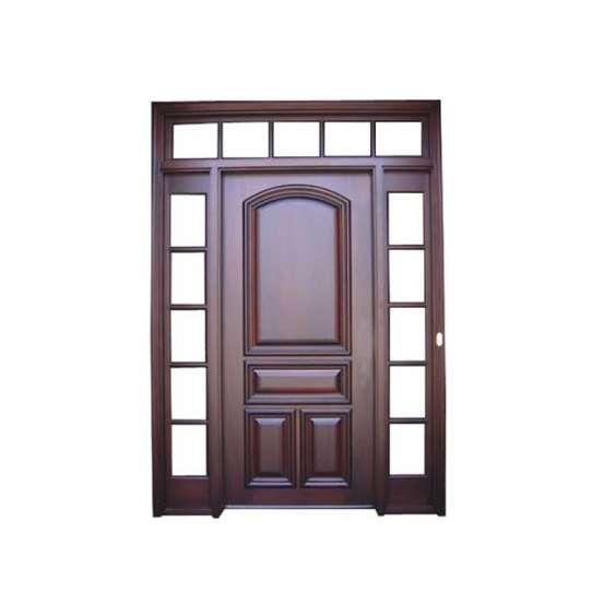 China WDMA main door wood carving design Wooden doors