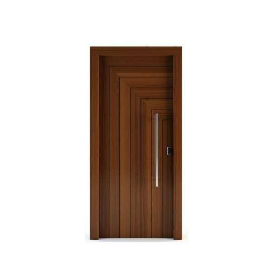 China WDMA Solid Wood Door Interior Solid Wooden Room Door