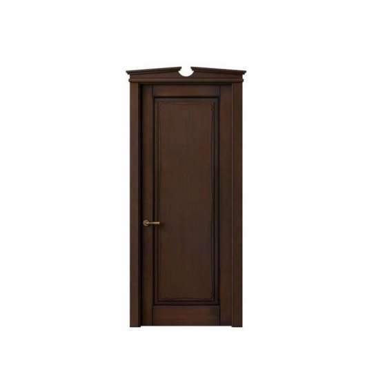 WDMA Solid Wood Modern Interior Hotel Room Door