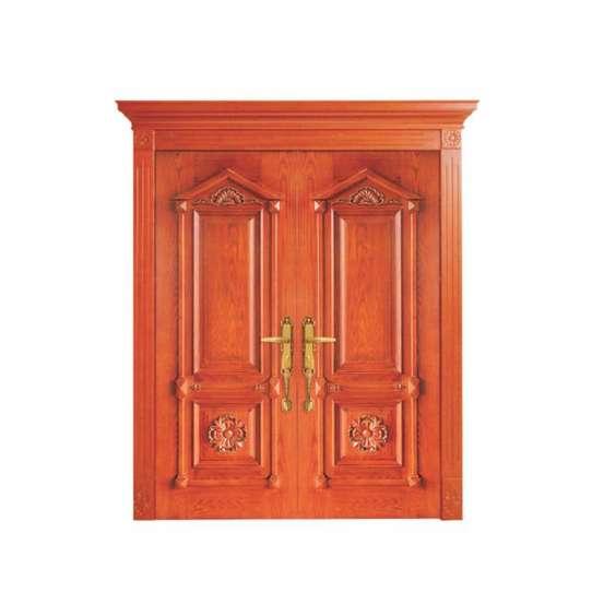 China WDMA Solid Wood Modern Interior Hotel Room Door