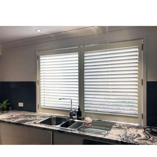 WDMA Standard House Aluminium Jalousie Shutter Glass Naco Louvre Windows Ventilation With Glass Shutters Sizes
