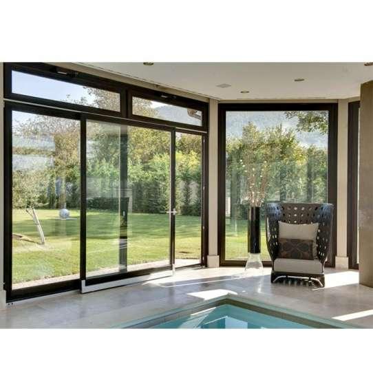 China WDMA Standard Size Aluminium Door And Windows