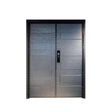WDMA Storefront Garden Watertight Aluminium Alloy Casting Art Greenhouse Door