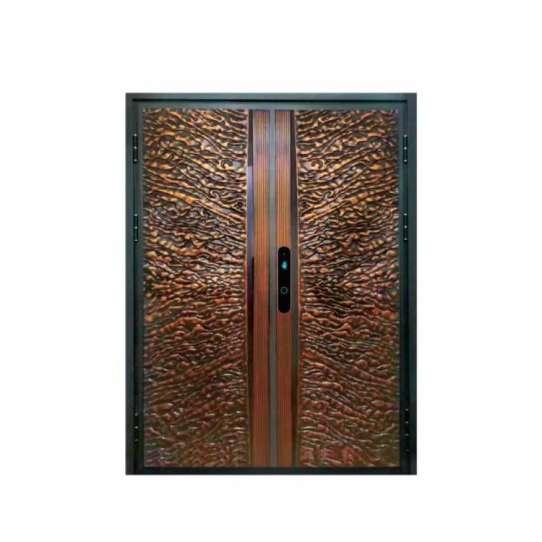 China WDMA aluminium storefront door Aluminum Casting Door