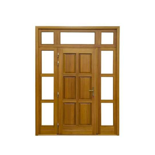 China WDMA Teak Wood Main Door Designs For Homeuse In India