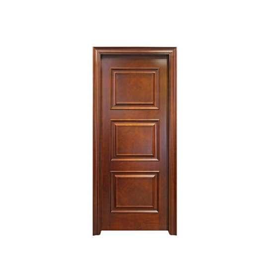 WDMA wooden double door round design