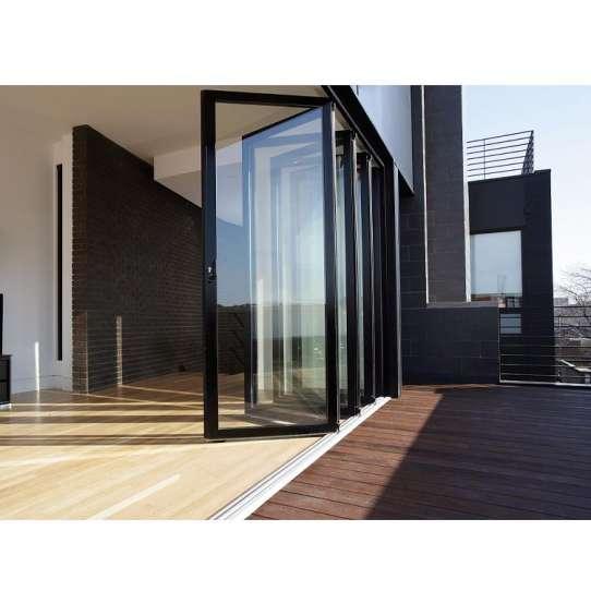 WDMA Thermal Break Powder Coated Aluminum Folding Glass Doors