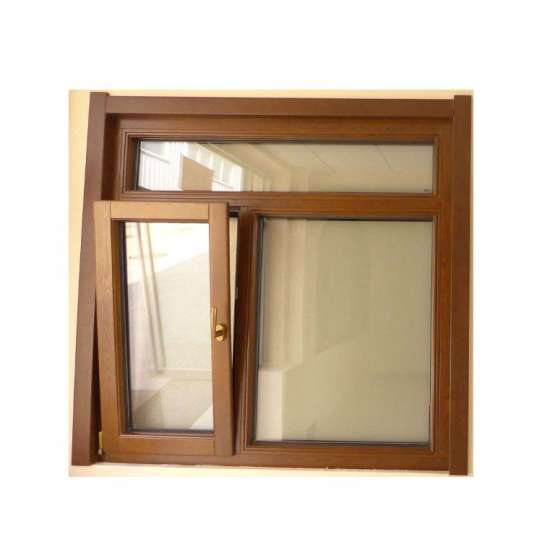 China WDMA Timber Oak Clad Alu Casement Window On Sales