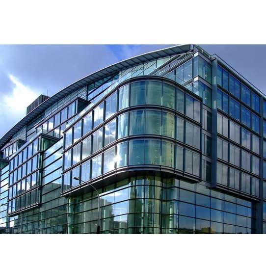 China WDMA Types Of Metal Steel Structure Glass Curtain Wall Window Wall Systems