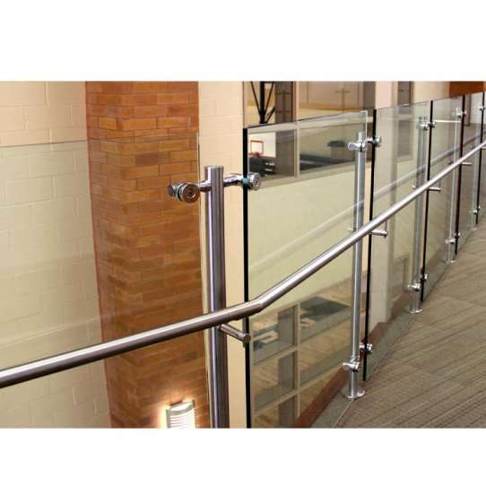 WDMA glass aluminium balcony railing
