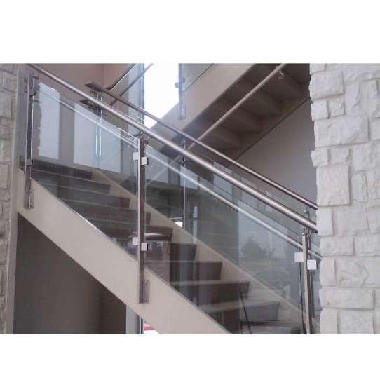 China WDMA glass aluminium balcony railing Balustrades Handrails