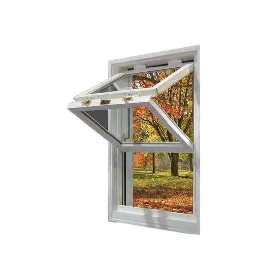 China WDMA United States American Style Aluminum Home Corner Transom Folding Window Style Sliding Soundproof